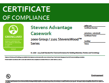 Stevens Advantage Casework 2000 Group / 2101 StevensWOOD Series