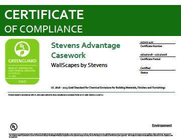 Stevens Advantage Casework WallScapes by Stevens